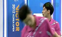高成炫/柳延星VS拉斯姆森/彼德森 2012韩国公开赛 男双1/8决赛视频