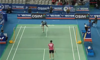 黄慧渊VS内德尔奇娃 2012韩国公开赛 女单1/16决赛视频