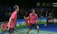 鲍伊/摩根森VS基多/诺瓦 2011哥本哈根大师赛 男双半决赛视频
