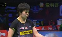 科农VS郑清亿 2013苏迪曼杯 女单资格赛视频
