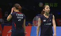 松友美佐纪/高桥礼华VS尤尔/佩蒂森 2013苏迪曼杯 女双资格赛视频