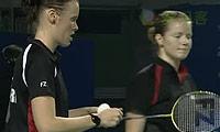 河贞恩/金旼贞VS佩蒂森/尤尔 2011世界羽联总决赛 女双半决赛视频
