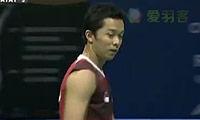 谌龙VS陶菲克 2011世界羽联总决赛 男单资格赛视频