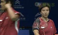 张楠/赵芸蕾VS艾哈迈德/纳西尔 2011世界羽联总决赛 混双资格赛视频