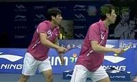 桥本博且/平田典靖VS高成炫/柳延星 2011世界羽联总决赛 男双资格赛视频