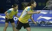 于洋/王晓理VS潘乐恩/谢影雪 2011世界羽联总决赛 女双资格赛视频