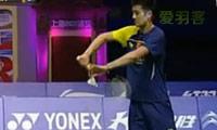 林丹VS谌龙 精彩回合 2011中国公开赛 男单决赛视频