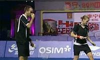 张楠/赵芸蕾VS尼尔森/彼德森 2011中国公开赛 混双决赛视频