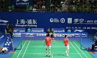 蔡赟/傅海峰VS杜尔金/尼科拉恩科 2011中国公开赛 男双1/16决赛视频