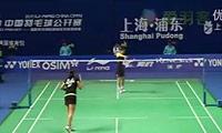内德尔奇娃VS蒋燕皎 2011中国公开赛 女单1/16决赛视频