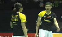 张楠/赵芸蕾VS尼尔森/彼德森 2011香港公开赛 混双决赛视频