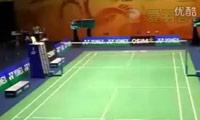 蔡赟/傅海峰VS白国豪/吴俊明 2011香港公开赛 男双1/4决赛视频