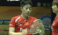 王晓理/于洋VS河贞恩/金旼贞 2011香港公开赛 女双半决赛视频
