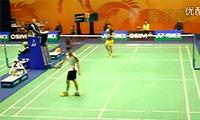 林丹VS黄永棋 2011香港公开赛 男双1/8决赛视频