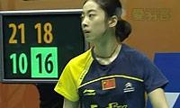 鲍恩VS王适娴 2011香港公开赛 女单半决赛视频