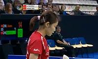 汪鑫VS李雪芮 2011法国公开赛 女单决赛视频