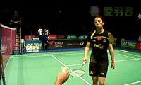 王适娴VS成池铉 2011丹麦公开赛 女单1/4决赛视频