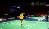 田儿贤一VS阮天明 2011丹麦公开赛 男单1/8决赛视频