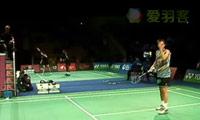 盖德VS王睁茗 2011丹麦公开赛 男单1/16决赛视频