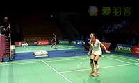 佐藤冴香VS皮红艳 2011丹麦公开赛 女单1/16决赛视频