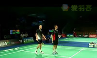 邦德/克里斯蒂安森VS克里斯南塔/奇雅加特 2011丹麦公开赛 男双资格赛视频