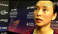 皮红艳:喜欢Yonex的赞助 2011丹麦羽毛球公开赛赛前访谈