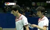 蔡赟/傅海峰VS高成炫/柳延星 2011中国大师赛 男双半决赛视频