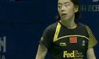 王适娴VS蒋燕皎 2011中国大师赛 女单决赛视频