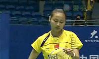 王仪涵VS内维尔 2011中国大师赛 女单1/4决赛视频