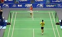 汪鑫VS广濑荣理子 2011中国大师赛 女单1/8决赛视频