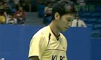 林丹VS哈菲兹 2011中国大师赛 男单1/8决赛视频