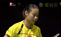 王仪涵VS皮红艳 2011世锦赛 女单1/4决赛视频