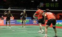王晓理/于洋VS田卿/赵芸蕾 2011世锦赛 女双决赛视频