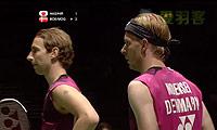 鲍伊/摩根森VS桥本博且/平田典靖 2011世锦赛 男双1/8决赛视频