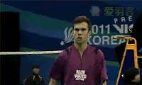 2011年韩国羽毛球公开赛 精彩汇编