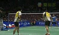 蔡赟/傅海峰VS郑在成/李龙大 2009苏迪曼杯 男双决赛视频