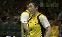 郑波/于洋VS李龙大/李孝贞 2009苏迪曼杯 混双决赛视频