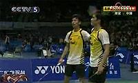 蔡赟/傅海峰VS塞蒂亚万/阿山 2009苏迪曼杯 男双资格赛视频