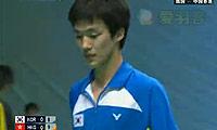 陈仁杰VS申白喆 2009苏迪曼杯 男单资格赛视频