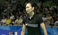 梅伦迪克VS章杯纹 2009苏迪曼杯 女单资格赛视频