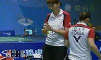 李敬元/李孝贞VS黄佩蒂/陈仪慧 2009苏迪曼杯 女双资格赛视频