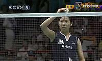 尤利安蒂VS佐藤冴香 2009苏迪曼杯 女单资格赛视频