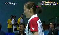 黄妙珠VS黄慧渊 2009苏迪曼杯 女单资格赛视频