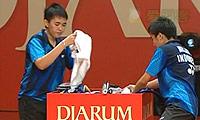 于洋/王晓理VS美拉提/玛丽莎 2011印尼公开赛 女双决赛视频