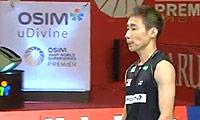 李宗伟VS谌龙 2011印尼公开赛 男单半决赛视频
