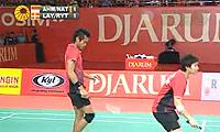 艾哈迈德/纳西尔VS雷伯恩/尤尔 2011印尼公开赛 混双半决赛视频