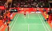 王仪涵VS叶姵延 2011印尼公开赛 女单1/8决赛视频