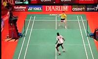 鲍春来VS欧斯夫 2011印尼公开赛 男单1/16决赛视频