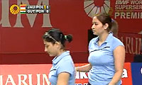 乔哈里/波莉VS古塔/蓬纳帕 2011印尼公开赛 女双1/8决赛视频