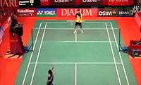 杜鹏宇VS波萨那 2011印尼公开赛 男单1/16决赛视频